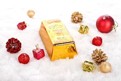 Giá Vàng Tăng Nhẹ Trong Ngày Giáng Sinh